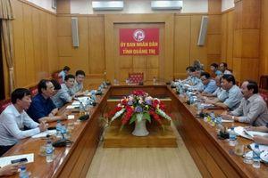 Bàn công tác giải phóng mặt bằng đường cao tốc Bắc Nam đoạn Cam Lộ - La Sơn