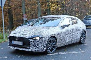 Lộ hình ảnh chạy thử mẫu hatchback Mazda3 2019 hoàn toàn mới