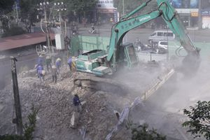 Phá dỡ khu tập thể cũ trên 'đất vàng' ở Hà Nội xây cao ốc 27 tầng