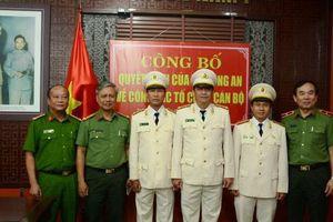 Công an thành phố Đà Nẵng điều động, bổ nhiệm cán bộ