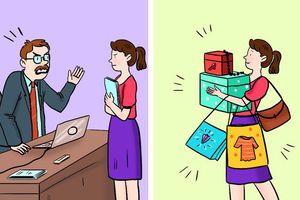 Bộ tranh lý giải tại sao bạn thường xuyên hết tiền, ai tiêu tiền cũng nhất định phải xem