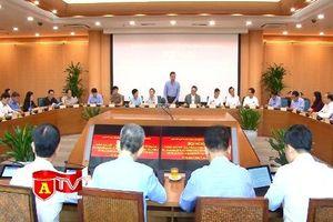 Đoàn công tác BCĐ Trung ương về phòng, chống tham nhũng làm việc với Thành ủy Hà Nội