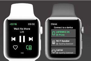 Dịch vụ nghe nhạc Spotify ra ứng dụng dành riêng cho Apple Watch