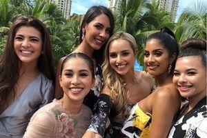 Tiểu Vy được khen trong trang phục thường ngày ở Miss World