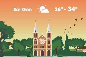 Thời tiết ngày 15/11: Sài Gòn và Hà Nội nắng gián đoạn, có mưa