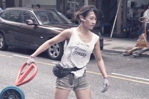 'Hot girl bốc vác' Hong Kong: Đã làm nghề 10 năm, từ chối vào showbiz