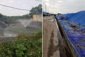 Đã khắc phục xong sự cố tràn nước rác ra môi trường