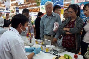 Test nông sản tại siêu thị
