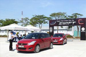 Ấn tượng ngày hội chăm sóc xe Suzuki Swift tại Hà Nội và TPHCM