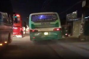 Xử lý xe buýt leo vỉa hè, phóng bạt mạng ở Sài Gòn
