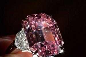 Viên kim cương hồng nghìn tỷ quý nhất thế giới được bán