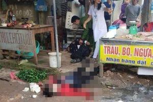 Hé lộ nguyên nhân cô gái bán đậu bị bắn 3 phát, đâm chết giữa chợ
