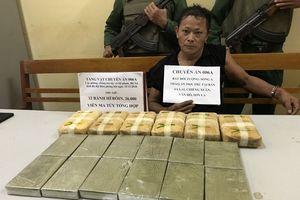 Phá chuyên án 006A, bắt đối tượng và thu 12 bánh hê-rô-in, 36.000 viên ma túy tổng hợp