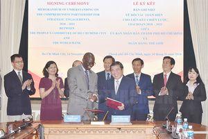 TPHCM và Ngân hàng Thế giới ký kết Bản ghi nhớ về đối tác toàn diện giai đoạn 2018 - 2020
