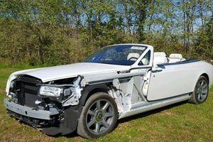 Siêu xe sang Rolls-Royce tai nạn nát đầu giá vẫn hơn 2 tỷ