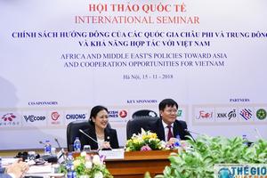 Việt Nam và các nước Trung Đông – châu Phi có nhiều lợi thế để bổ trợ cho nhau cùng phát triển.