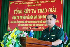 BĐBP Ninh Thuận: 45.000 bài dự thi 'Tìm hiểu về biên giới và BĐBP'