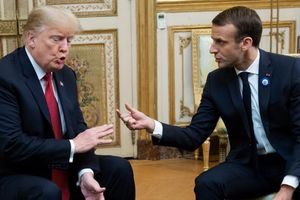 Tổng thống Trump thiếu 'phép lịch sự sơ đẳng' khi công kích Tổng thống Macron