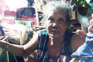 Người phụ nữ gốc Khmer lượm ve chai kiếm tiền uống thuốc