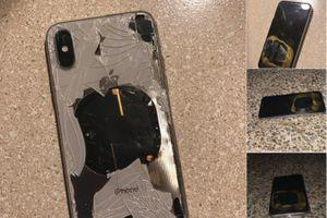 iPhone X bất ngờ phát nổ khi cập nhật lên iOS 12.1