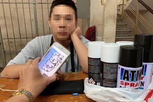 Thưởng nóng công an phường phát hiện du khách Đài Loan vẽ bậy ở TP.HCM