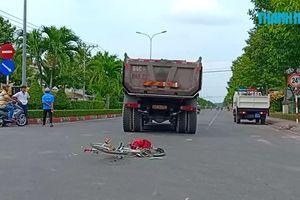 Một học sinh ở Vĩnh Long bị xe tải cán qua người nguy kịch
