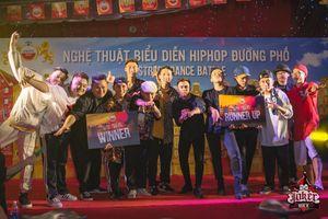 Hơn 100 bạn trẻ nhảy hip hop trên phố Tây