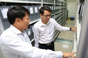 BSR giao nộp hồ sơ, tài liệu về Trung tâm Lưu trữ Dầu khí