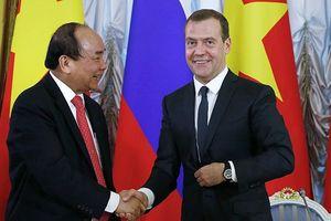 Thủ tướng Nga Medvedev sẽ thăm chính thức Việt Nam