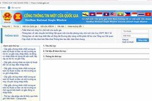 Thực hiện Cơ chế một cửa quốc gia: Ghi nhận nỗ lực của Bộ Giao thông vận tải