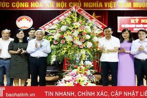 Lãnh đạo Hà Tĩnh chúc mừng ngày thành lập Mặt trận Dân tộc thống nhất Việt Nam