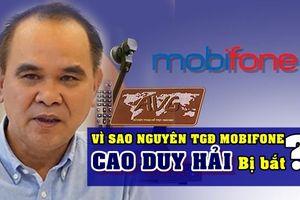Vì sao Tổng Giám đốc MobiFone Cao Duy Hải bị bắt?