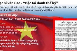 Nhạc sỹ Văn Cao - 'Bậc tài danh thế kỷ'