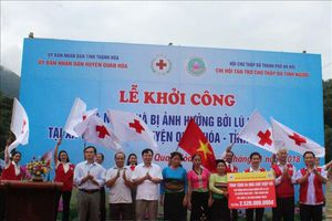 Xây dựng 84 ngôi nhà cho nạn nhân vùng lũ Thanh Hóa