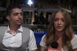 Bất chấp 'mưa rocket', cặp đôi vẫn quyết làm đám cưới gần Dải Gaza