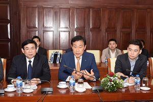 Chủ tịch Tập đoàn Tài chính Hana gặp gỡ Thống đốc NHNN, có sự tham dự của BIDV