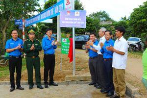 Khánh thành công trình thanh niên 'Ánh sáng đường quê' tại tỉnh Quảng Trị