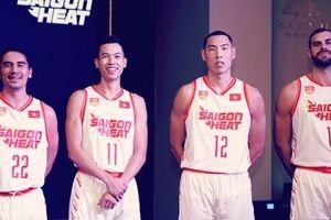 Saigon Heat đồng hành cùng thương hiệu Bỉ ra mắt mẫu áo đấu chính thức tại ABL 9