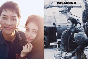 'Chết ngất' với hình ảnh 'tình bể bình' của Lee Seung Gi và Suzy trên phim trường 'Vagabond'