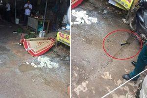 Nghi phạm bắn chết người phụ nữ bán đậu giữa chợ đang nguy kịch