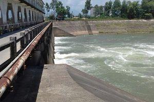 Thông tin báo chí về tình hình vận hành điều tiết của các hồ chứa để bảo đảm việc khai thác nước của Nhà máy nước Cầu Đỏ