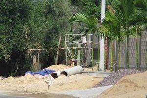 Bình Định: Biệt thự tiếp tục xây dựng trái phép trên tuyến đường ĐT639 qua xã Nhơn Hội