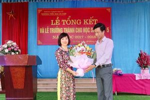 Thái Nguyên: Trường Tiểu học Cù Vân, nơi ghi dấu tấm lòng nhiệt huyết của người thầy
