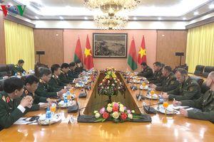 Bộ trưởng Quốc phòng Việt Nam và Belarus hội đàm