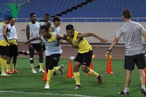 ĐT Malaysia tìm cách giải tỏa áp lực trước trận gặp ĐT Việt Nam