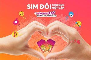 Vietnamobile ra mắt SIM đôi 'Trời sinh một cặp', hai SIM giống nhau đến 9 số