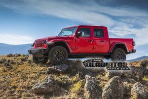 Jeep Gladiator chuẩn bị gia nhập phân khúc bán tải