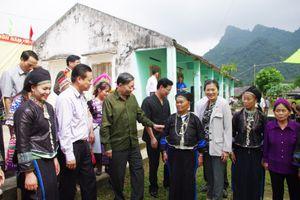 Ấm áp Ngày hội Đại đoàn kết toàn dân tộc ở Hà Giang