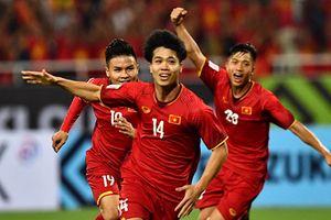 Công Phượng, Anh Đức ghi bàn giúp ĐT Việt Nam thắng Malaysia 2-0