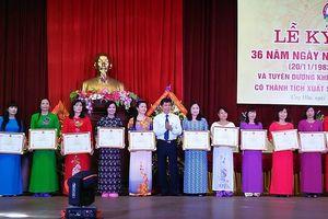 Huyện Ứng Hòa tuyên dương các nhà giáo tiêu biểu